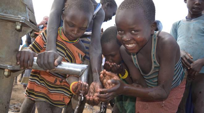 I pozzi d'acqua in Karamoja Africa Mission