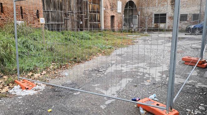 Il cantiere a Bastione Borghetto