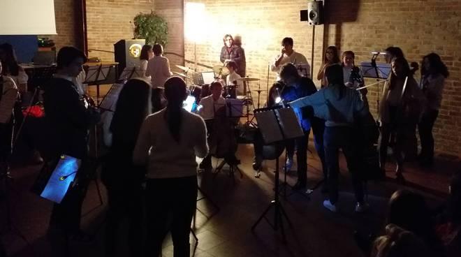 Il concerto al buio in S.Ilario