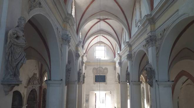Il sopralluogo del sindaco alla chiesa del Carmine