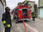 incendio vigili del fuoco