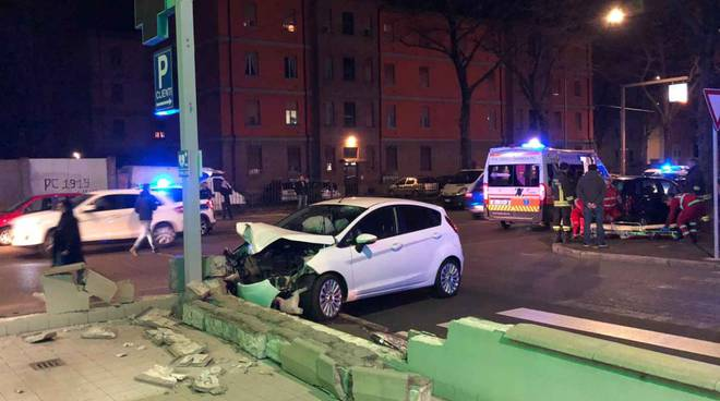 incidente farmacia via Boselli