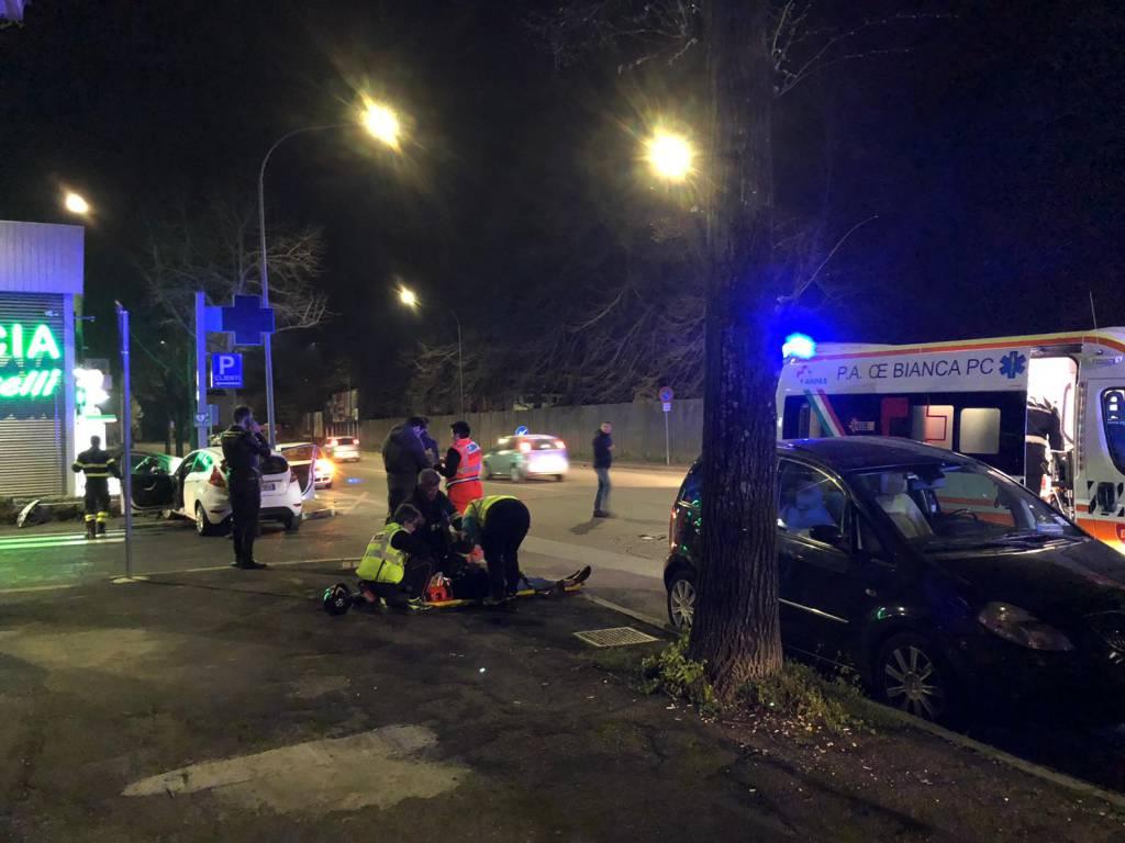 incidente farmacia via Boselli