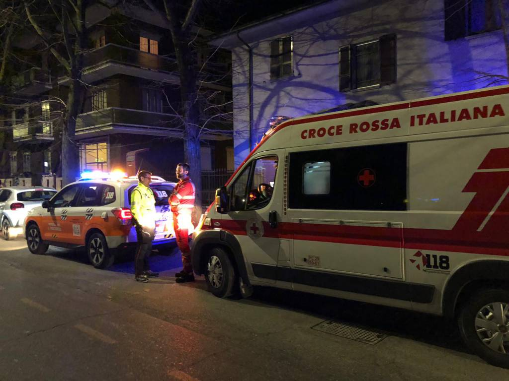 incidente in via Cella con fuga