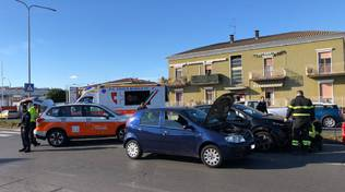 incidente in via Emilia Pavese