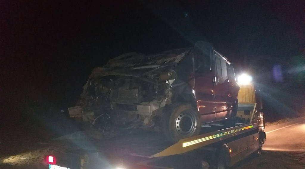 incidente Settima capriolo furgone