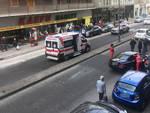 L'incidente in via Genova