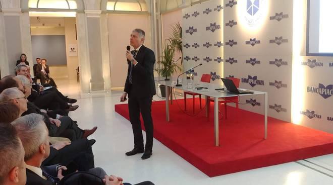 L'incontro con Gabriele Pinosa a Palazzo Galli