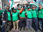 La manifestazione a Roma
