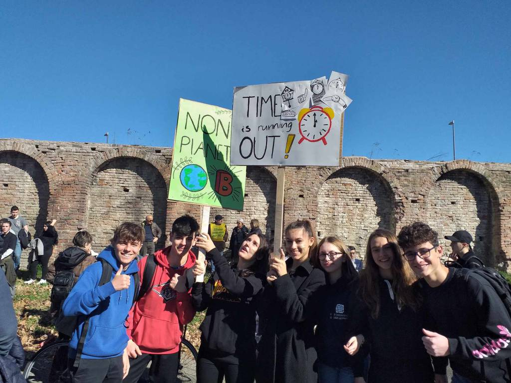 "La marcia per il clima ""Fridays for Future"""