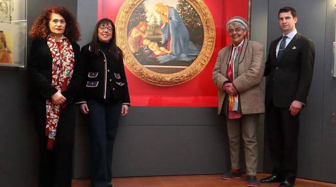 La Principessa Soraya Malek d'Afghanistan in visita ai Musei Civici