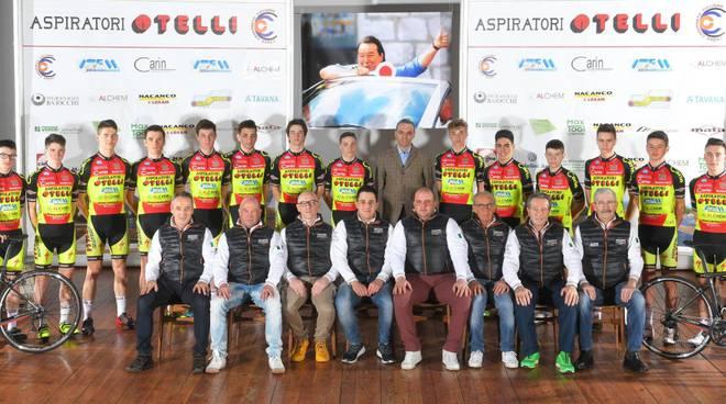 La squadra Juniores del Cadeo Carpaneto