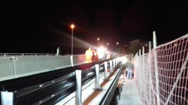 lavori ponte di Farini