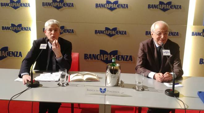 Mario Giordano e Corrado Sforza Fogliani
