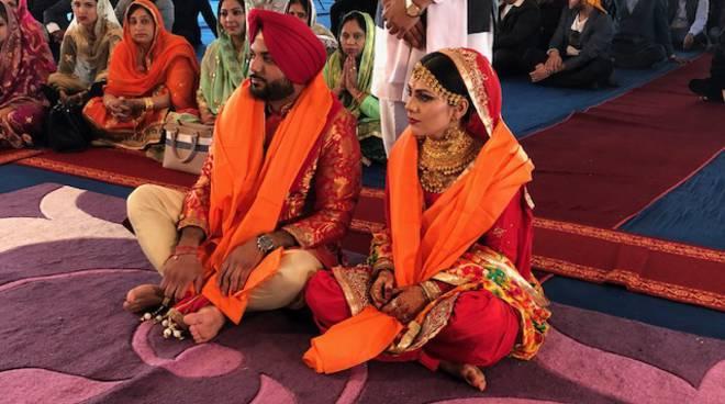 Matrimonio indiano a Piacenza