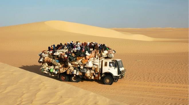 migranti deserto fabrizio Gatti