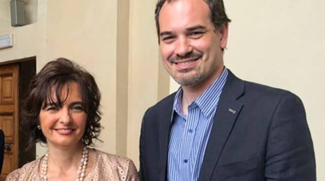 Natalia Maramotti e Pierangelo Romersi
