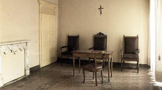 Nella foto (dalla pagina Facebook della Delegazione Fai di Piacenza) Palazzo Tamburelli a Bobbio