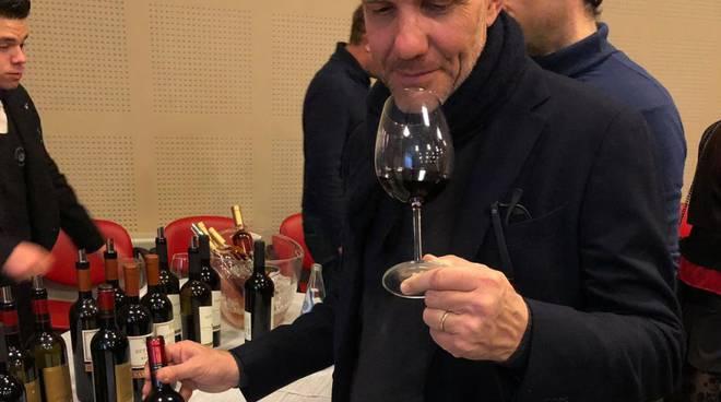 Paolo Perini alla degustazione