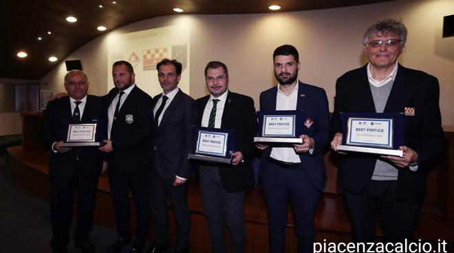 Piacenza Calcio premiato dalla Figc