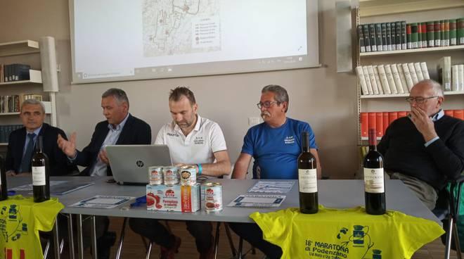 presentazione maratona di Podenzano
