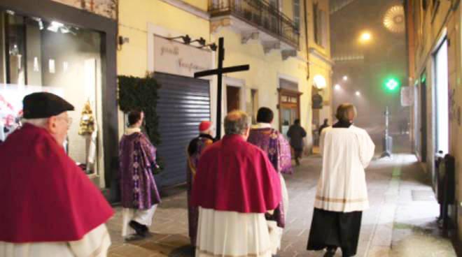 Processione mercoledì delle Ceneri