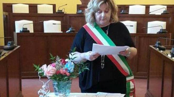 Roberta Battaglia, sindaco di Caorso