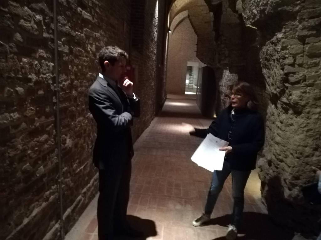 Jonathan papamarenghi e Antonella Gigli a Palazzo Farnese