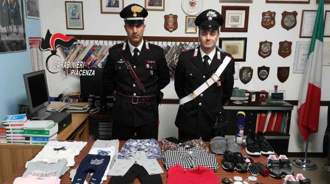 tentato furto Castelsangiovanni carabinieri