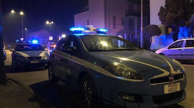 volanti polizia notte