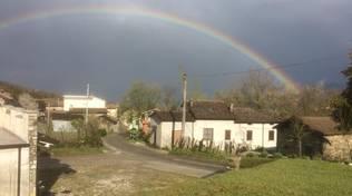 arcobaleno a Morfasso