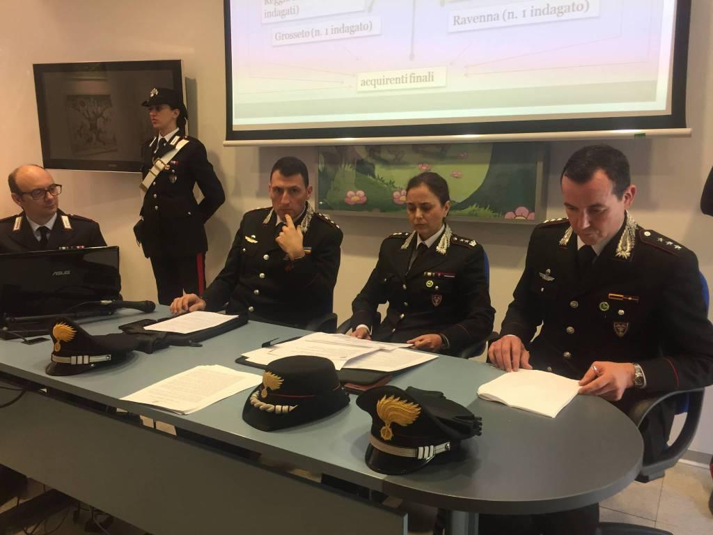 carabinieri forestali Reggio Emilia animali da compagnia