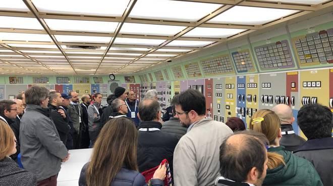 Centrale aperta a Caorso il 13 aprile 2019