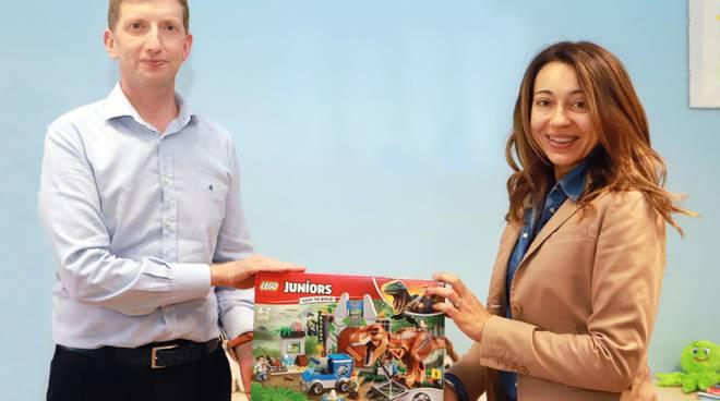 Donazione giocattoli in Neuropsichiatria Fiorenzuola