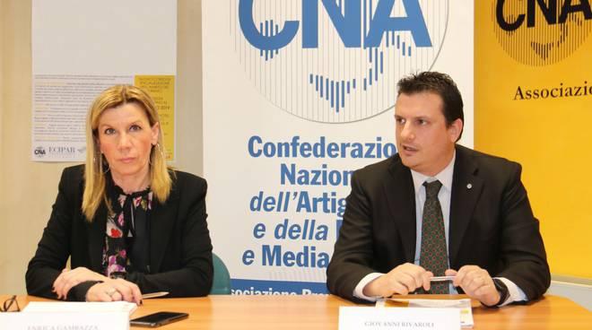 Enrica Gambazza e Giovanni Rivaroli