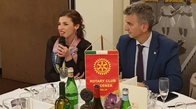 Giuseppina Bridelli al Rotary