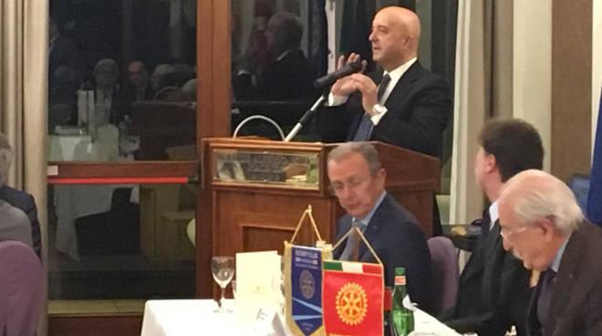 Il Generale Bernardini al Rotary