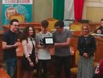 Il premio alla redazione dell'Eco di Giulia