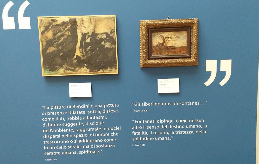 Inaugurazione mostra Antonio Fontanesi alla Ricci Oddi