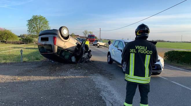incidente a Case Nuove aprile 2019