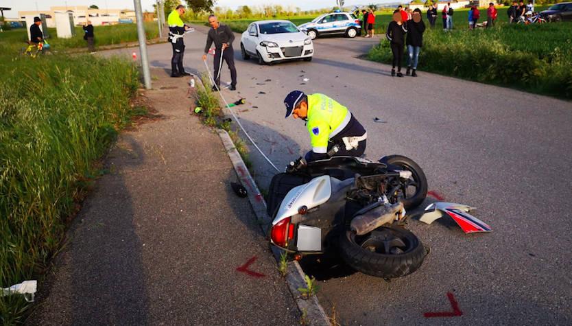 L'incidente a Vigolzone