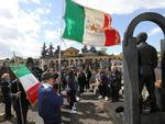 L'omaggio ai Caduti partigiani