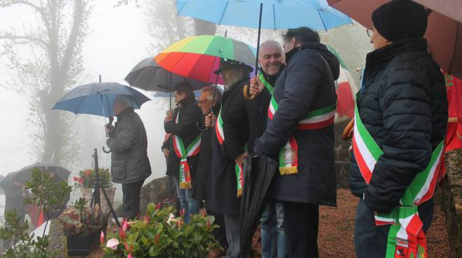 La commemorazione della battaglia partigiana di Monticello