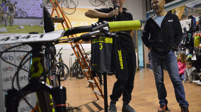 Luca e Andrea mountain bike