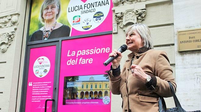 Lucia Fontana si ricandida