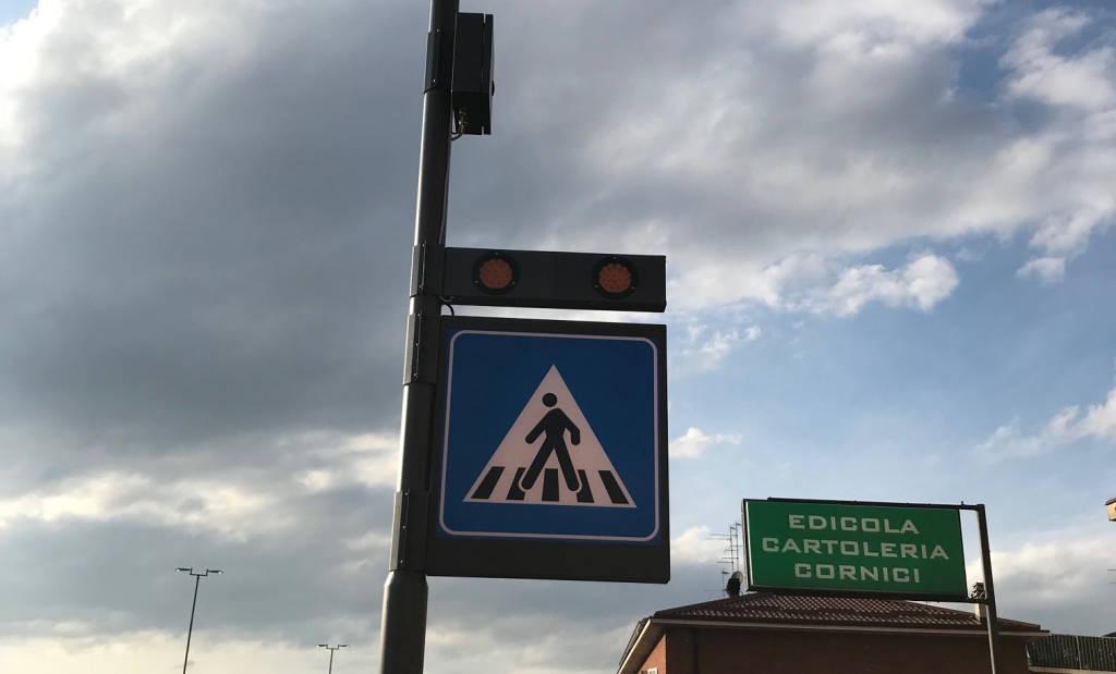 Messa in sicurezza attraversamenti pedonali
