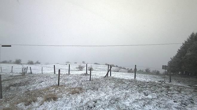 Neve sull'Aserei