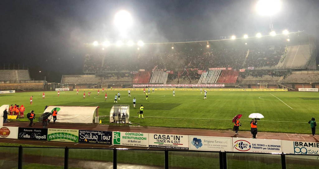 Prepartita Piacenza Entella