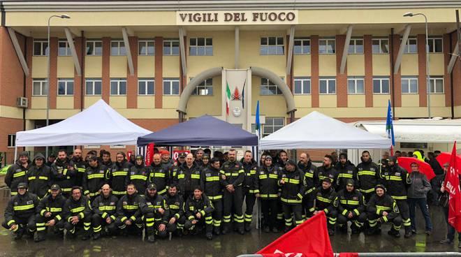 sciopero vigili del fuoco