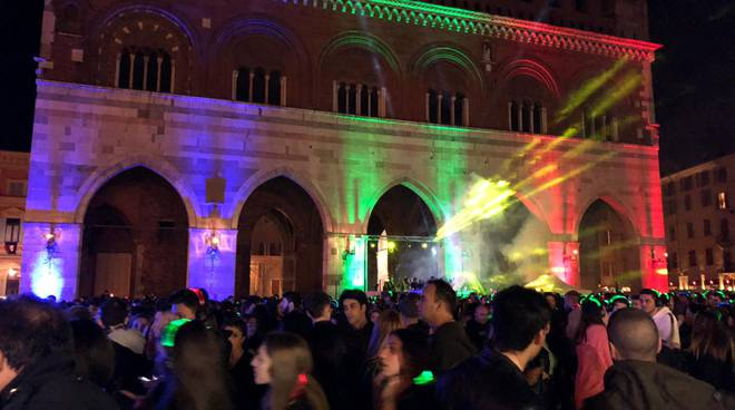 Silent disco piazza Cavalli
